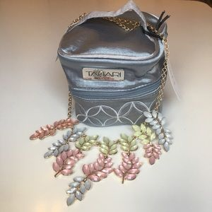 Susan Graver Necklace with Tahari Home Jewelry Bag